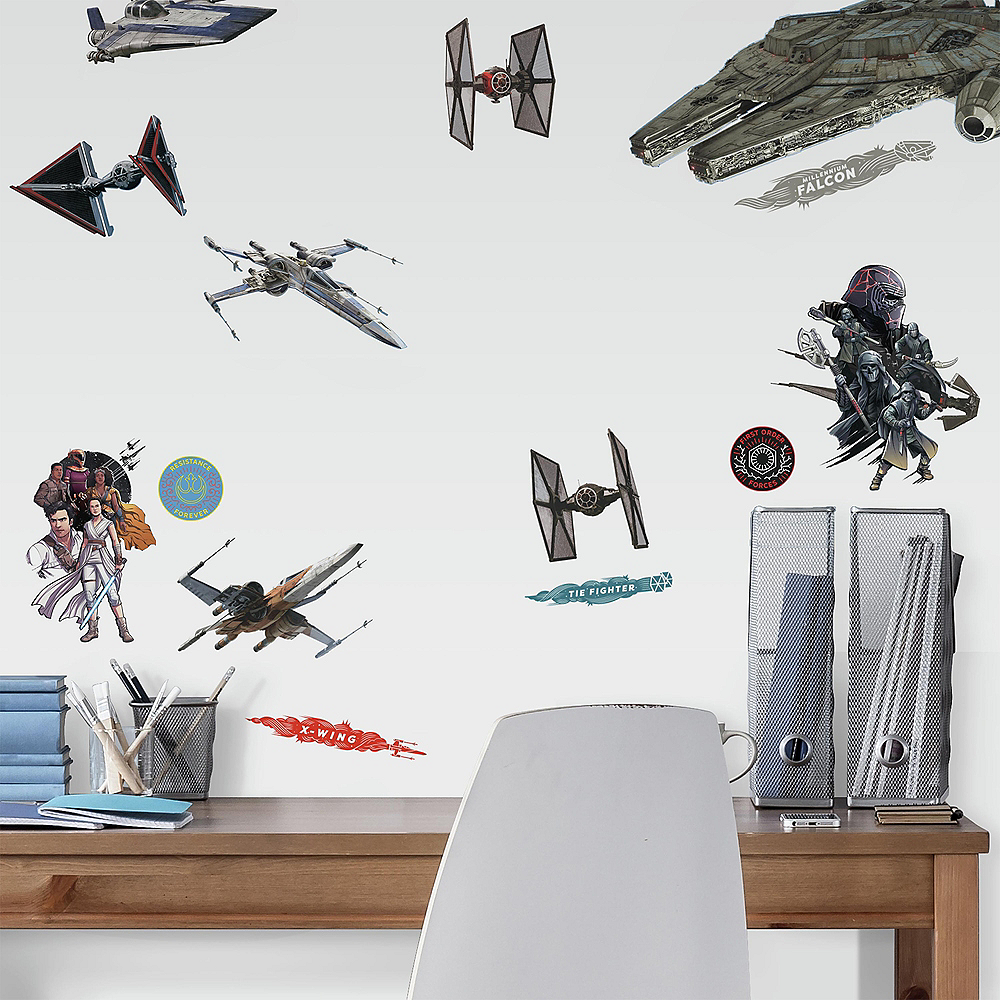 Galactic Ship Wall Decals 27t - Star Wars: Episode IX Rise of Skywalker Image #1