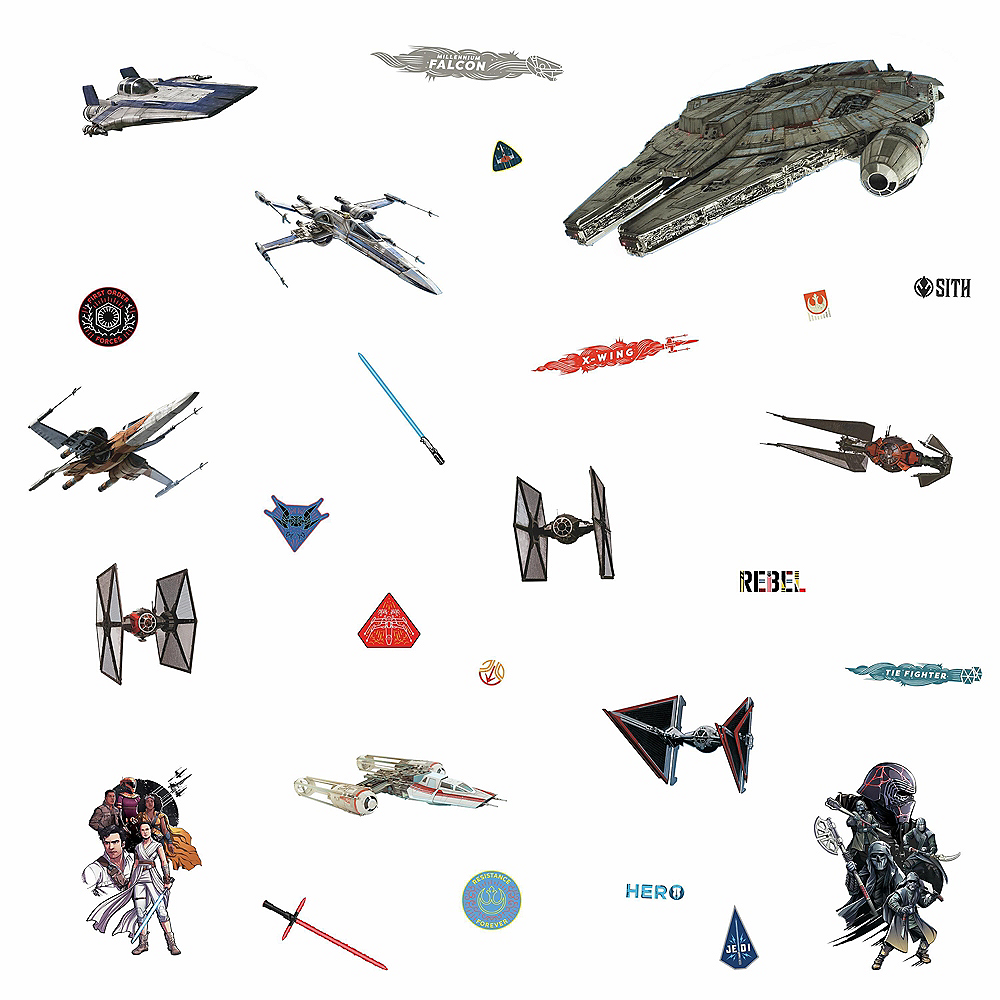 Galactic Ship Wall Decals 27t - Star Wars: Episode IX Rise of Skywalker Image #2