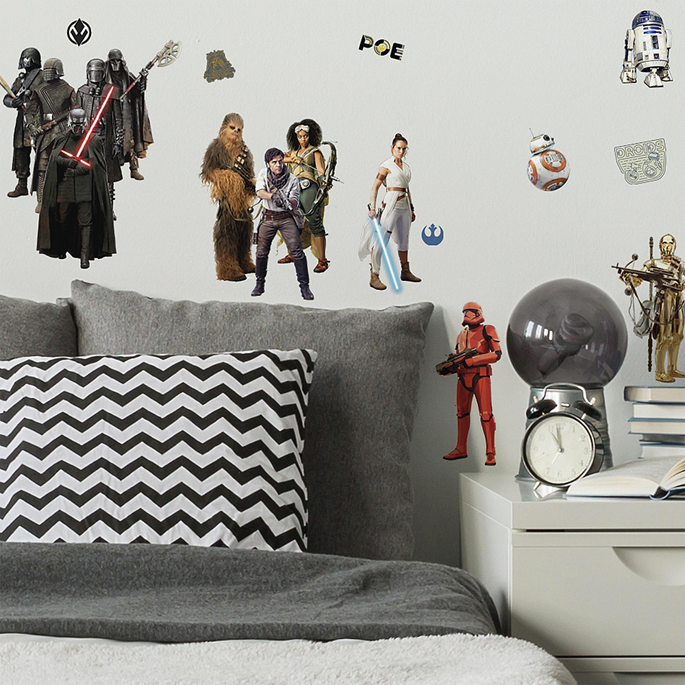 Star Wars IX Wall Decals - Characters 28ct | Party City