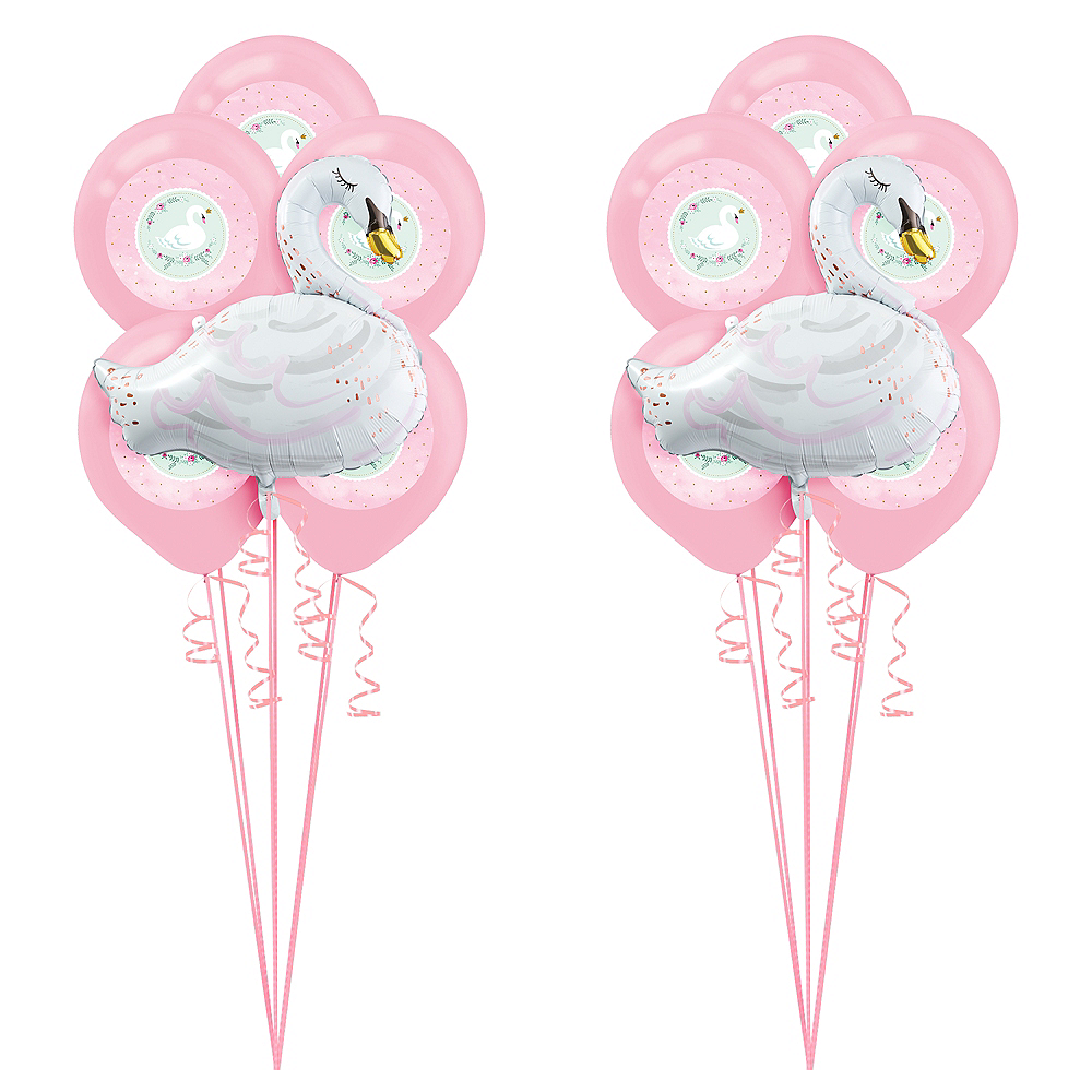 Sweet Swan Party Balloon Kit Image #1
