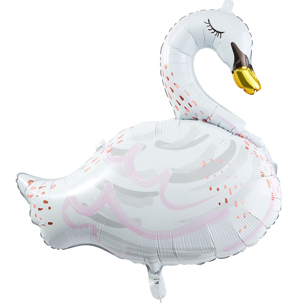 Sweet Swan Party Balloon Kit Image #2