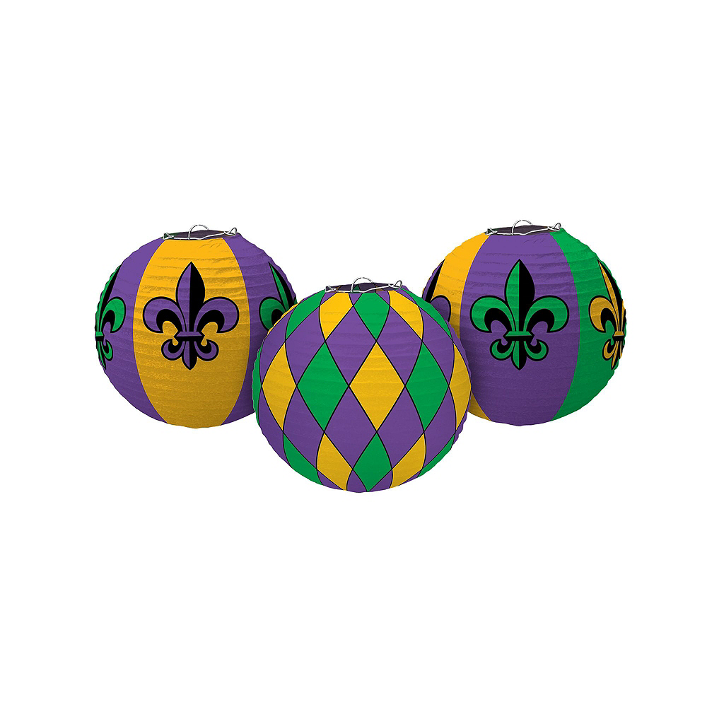 Mardi Gras Party Decorating Kit 30pc Image #4