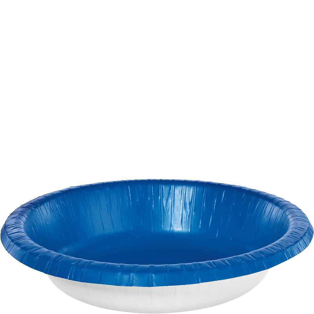 Royal Blue Plastic Tailgate Party Kit for 20 Guests Image #5