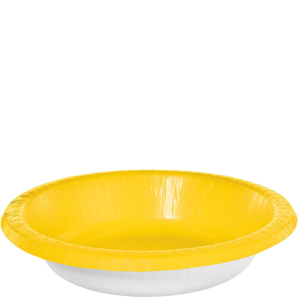 Yellow Plastic Tailgate Party Kit for 20 Guests Image #7
