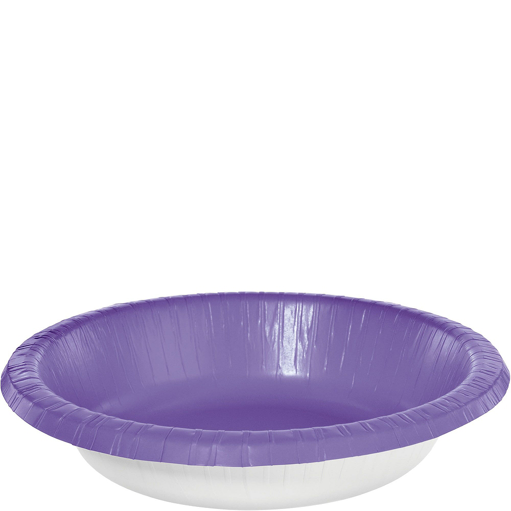 Purple Plastic Tailgate Party Kit for 20 Guests Image #5