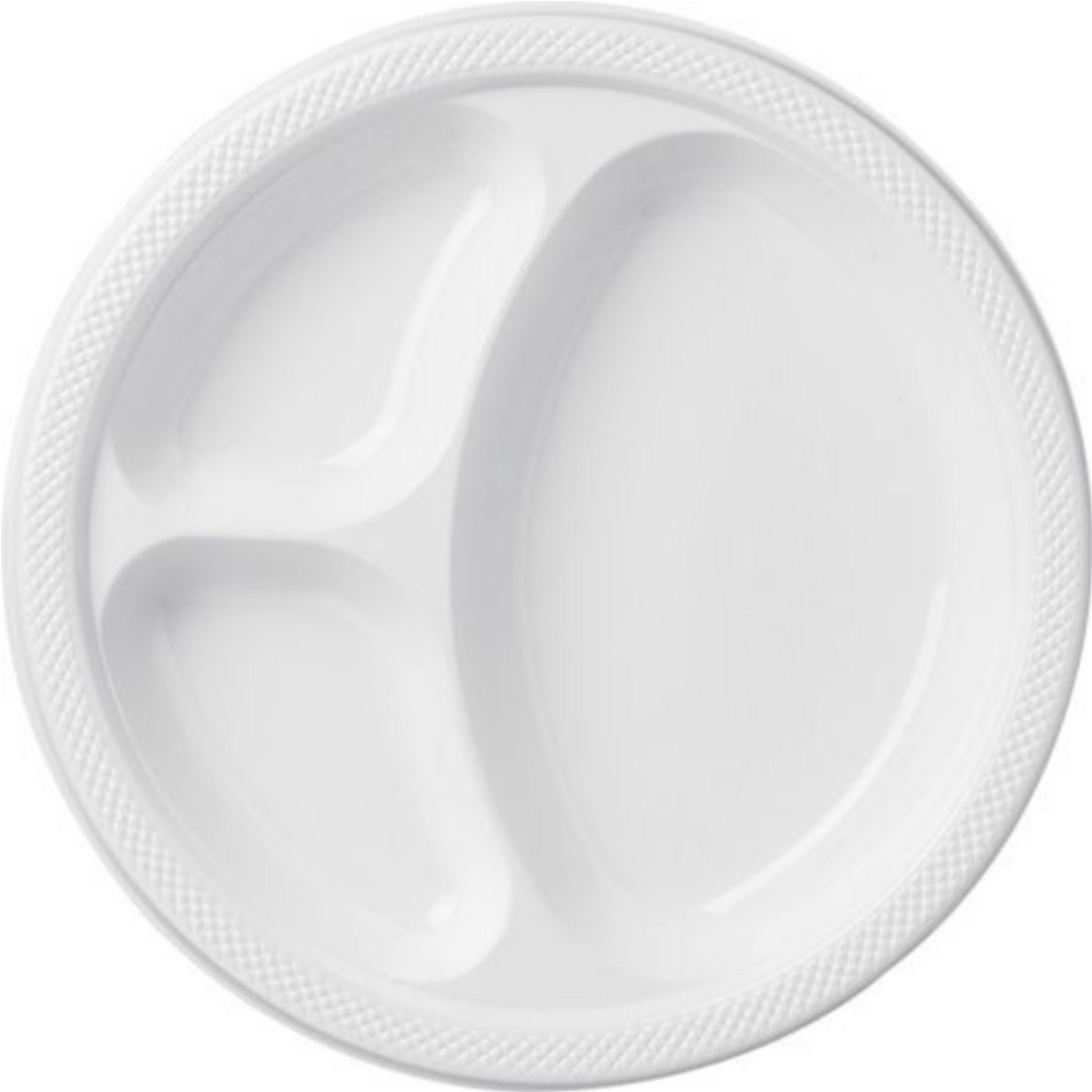 Nav Item for White Plastic Tailgate Party Kit for 20 Guests Image #2