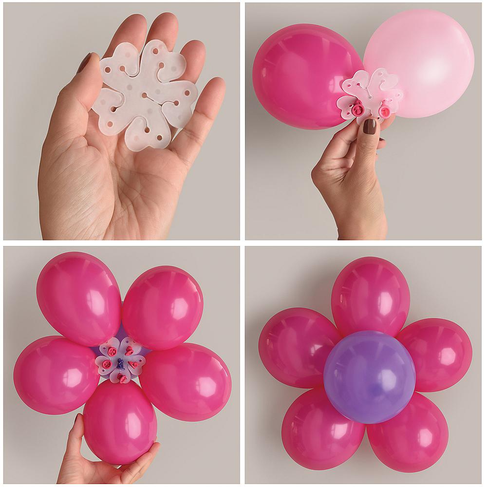 Flower Balloon Clip Image #1