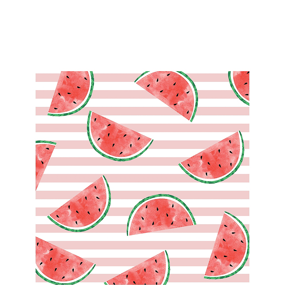One in a Melon 1st Birthday Lunch Napkins, 6 1/2in, 16ct Image #1
