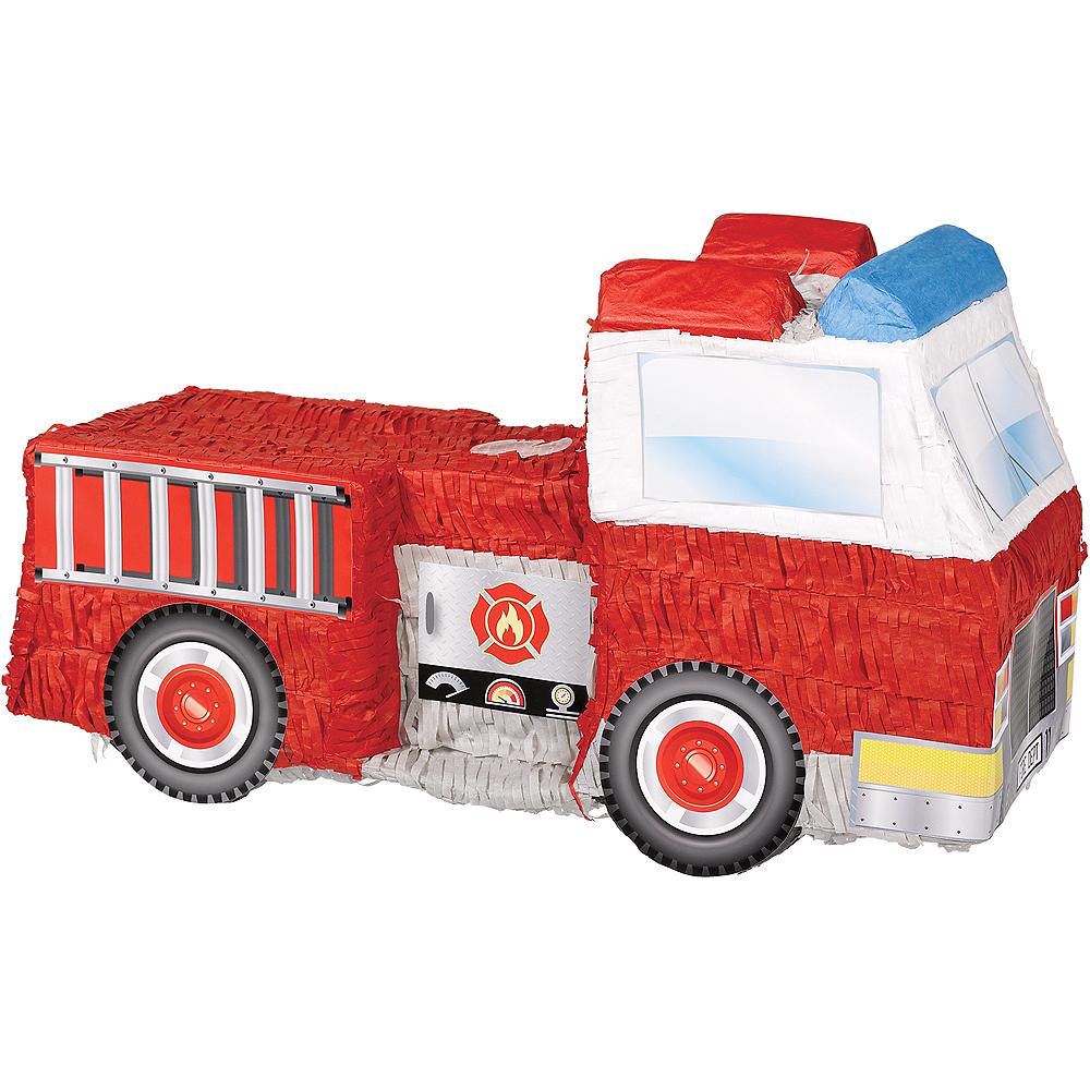 Fire Truck Pinata Image #1