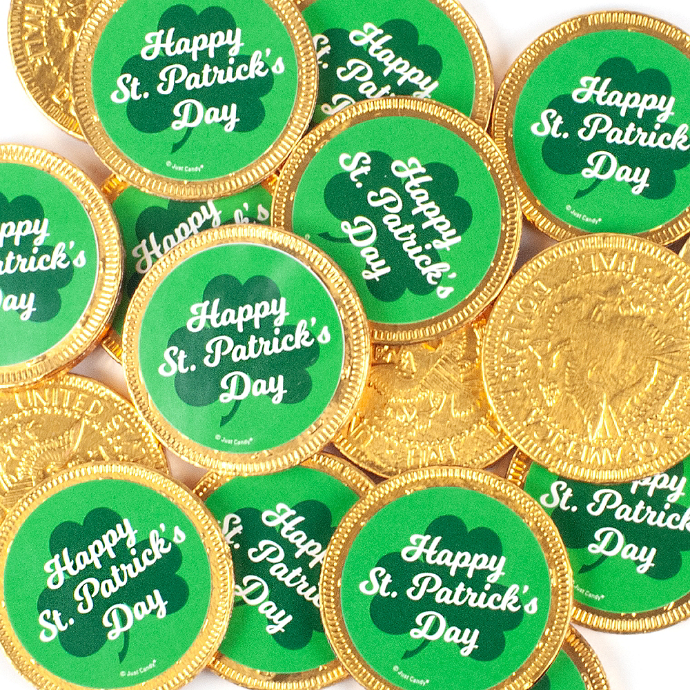 Milk Chocolate St. Patrick's Day Coins 84ct Image #2