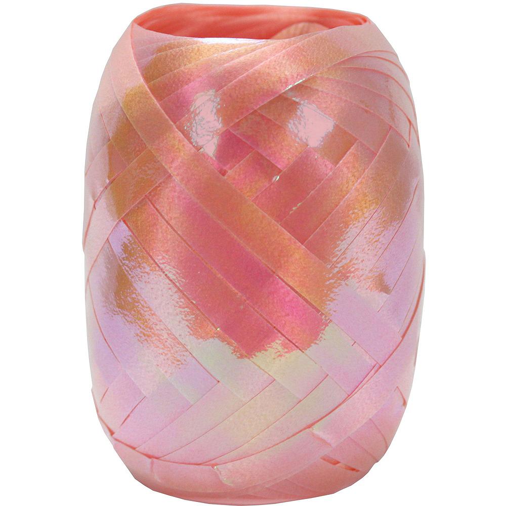 13in Air-Filled Rose Gold Girl Gang Letter Balloon Kit Image #8