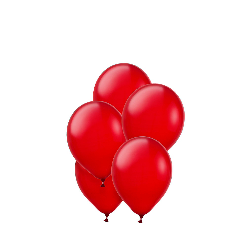 Air-Filled Pink & Red Balloon Garland Kit Image #5
