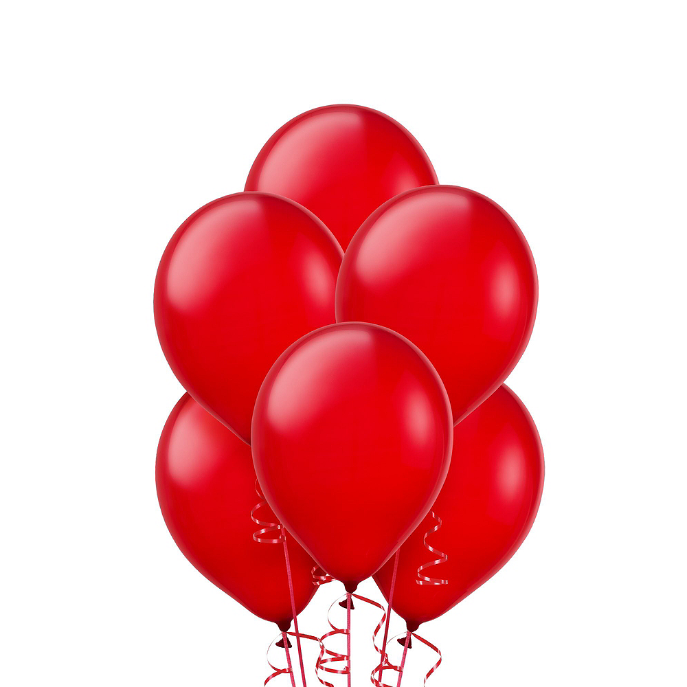 Nav Item for Air-Filled Pink & Red Balloon Garland Kit Image #6