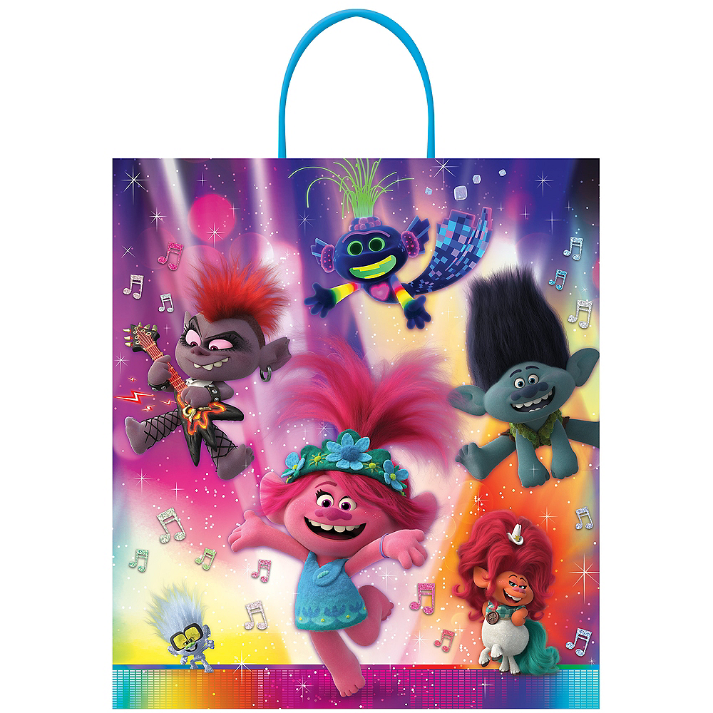 DreamWorks Trolls World Tour Trick-or-Treat Bag Image #1