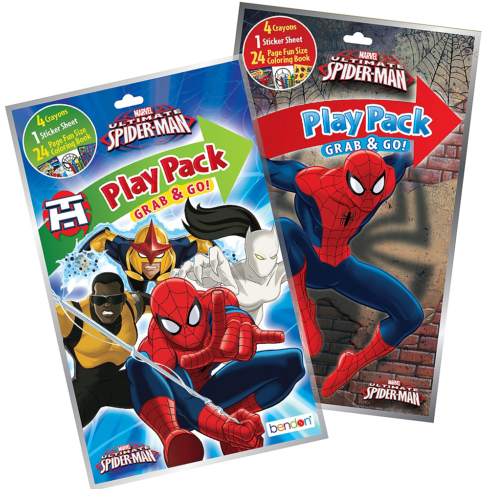 Spider-Man Grab & Go Play Pack Image #1