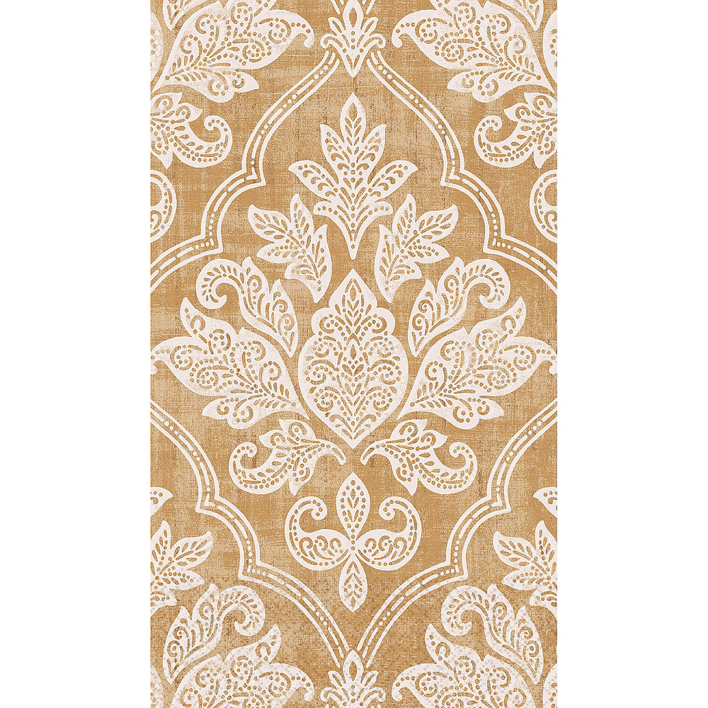 Gold Damask Guest Towels 48ct with Caddy Image #2