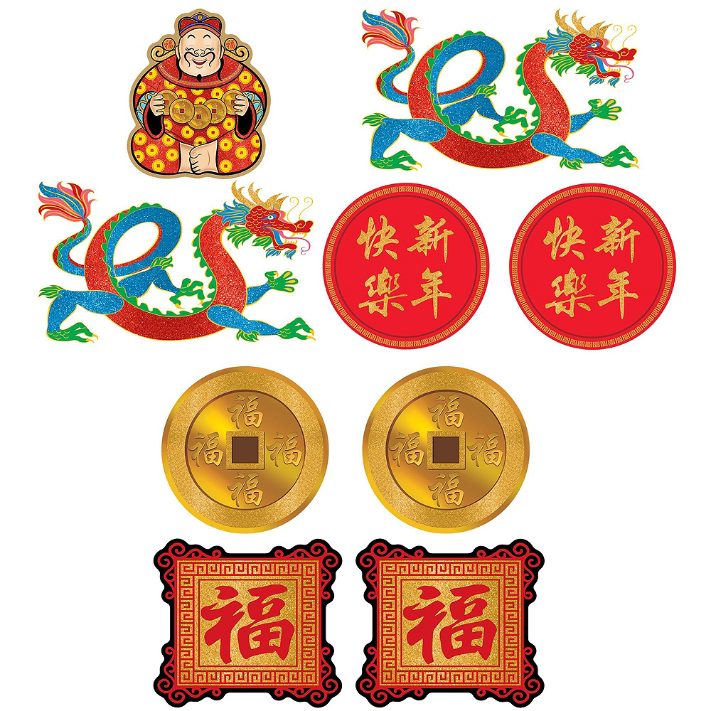 Chinese New Year Room Decorating Kit Image #2