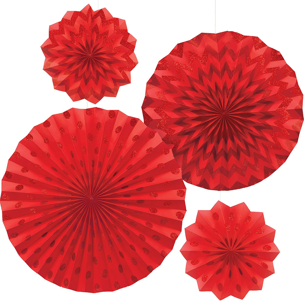 Chinese New Year Fan & Swirl Decorating Kit Image #4