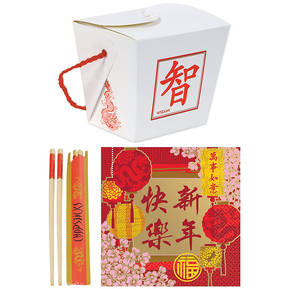 Chinese New Year Serveware Kit for 12 Guests Image #1