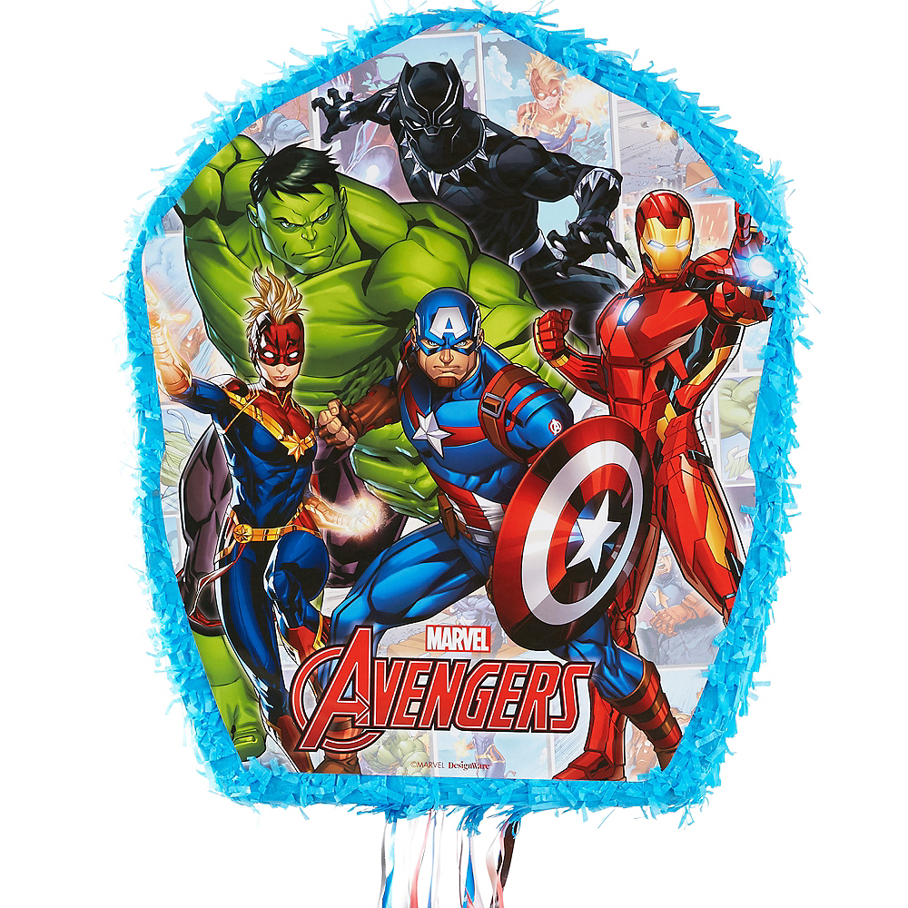Pull String Marvel Powers Unite Pinata Image #1