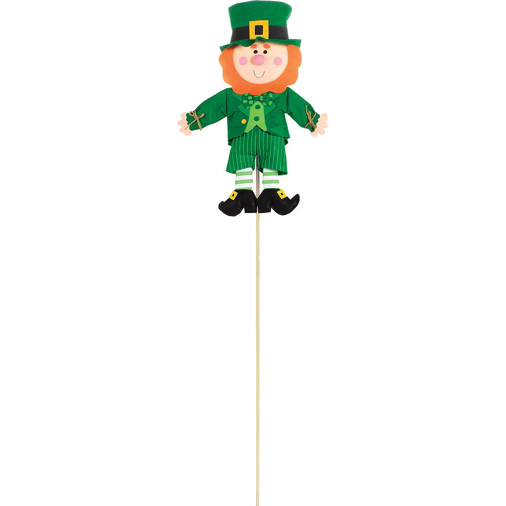 St. Patrick's Day Leprechaun Outdoor Decorating Kit Image #3