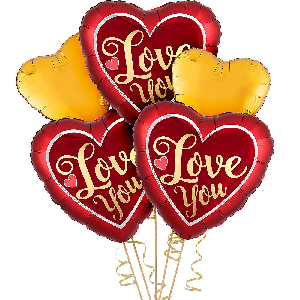 Valentine's Day Love You Balloon Kit Image #1