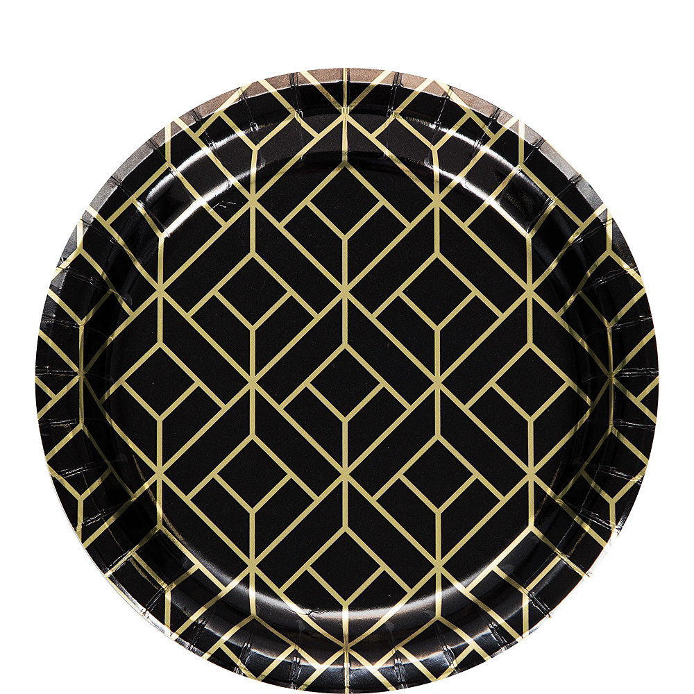 Super Roaring 20s Tableware Kit for 16 Guests Image #2