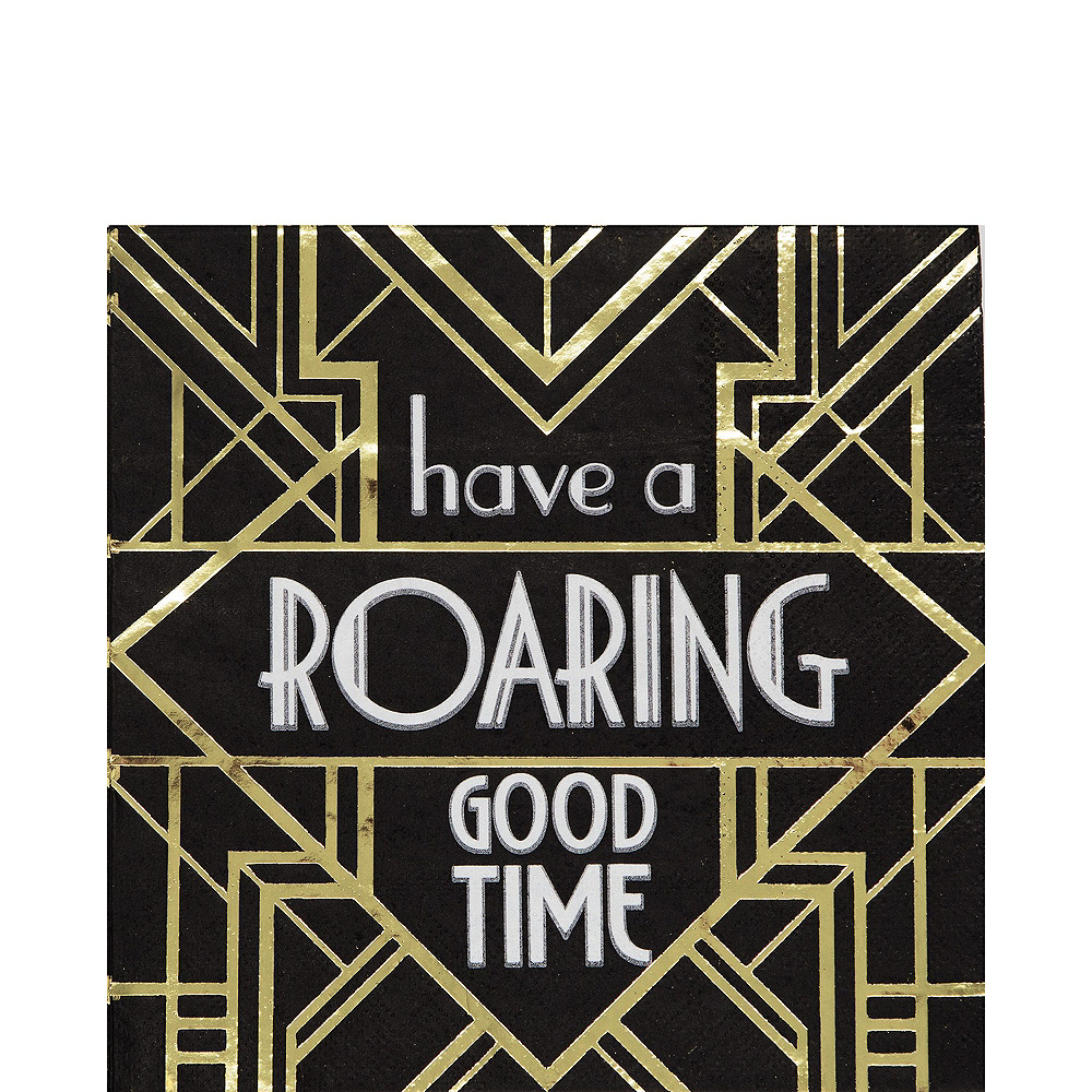 Super Roaring 20s Tableware Kit for 16 Guests Image #5