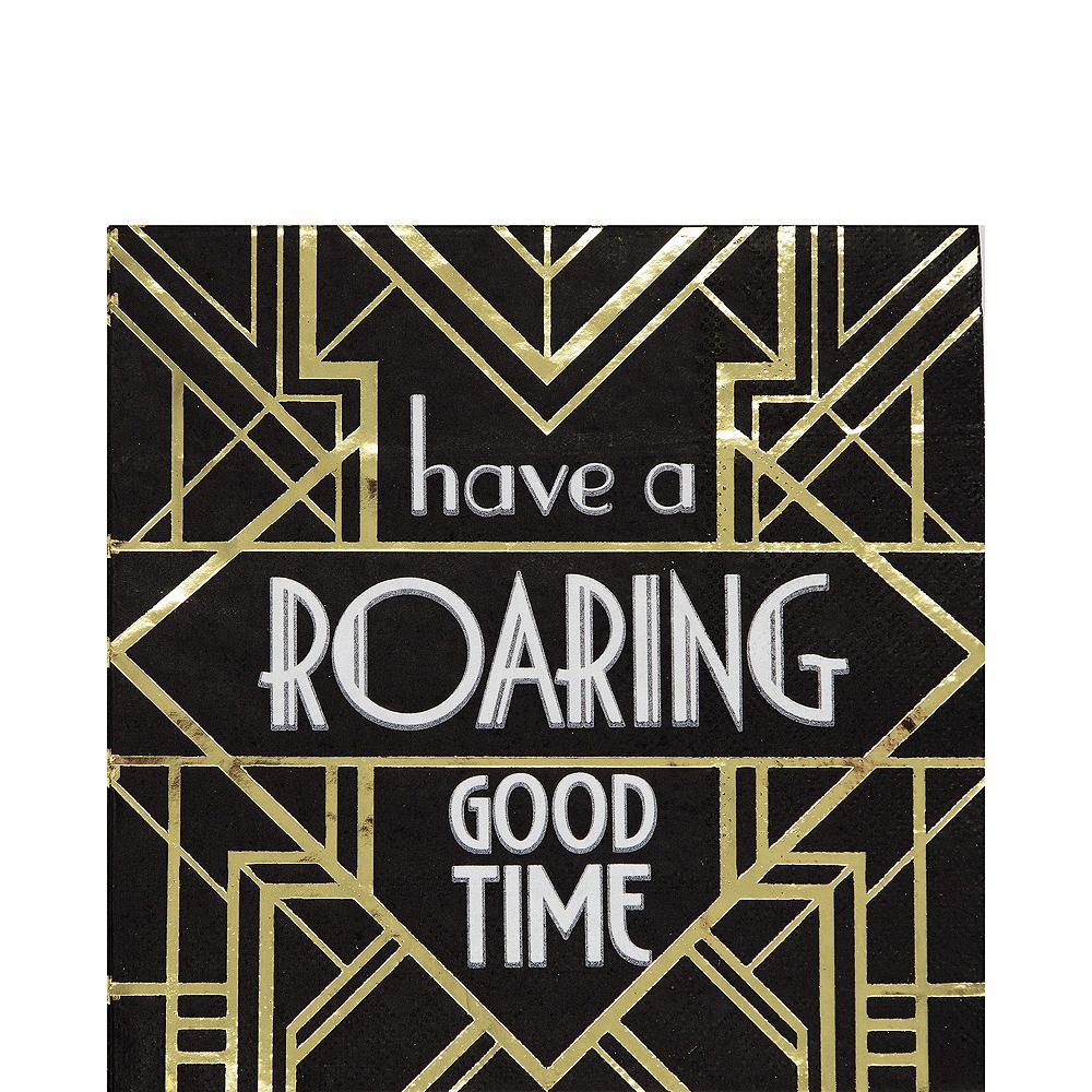 Super Roaring 20s Tableware Kit for 32 Guests Image #5