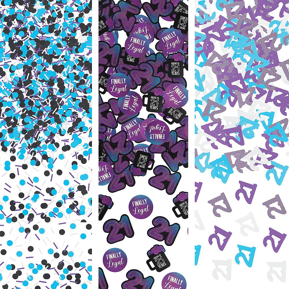 Finally 21 Birthday Confetti Image #1