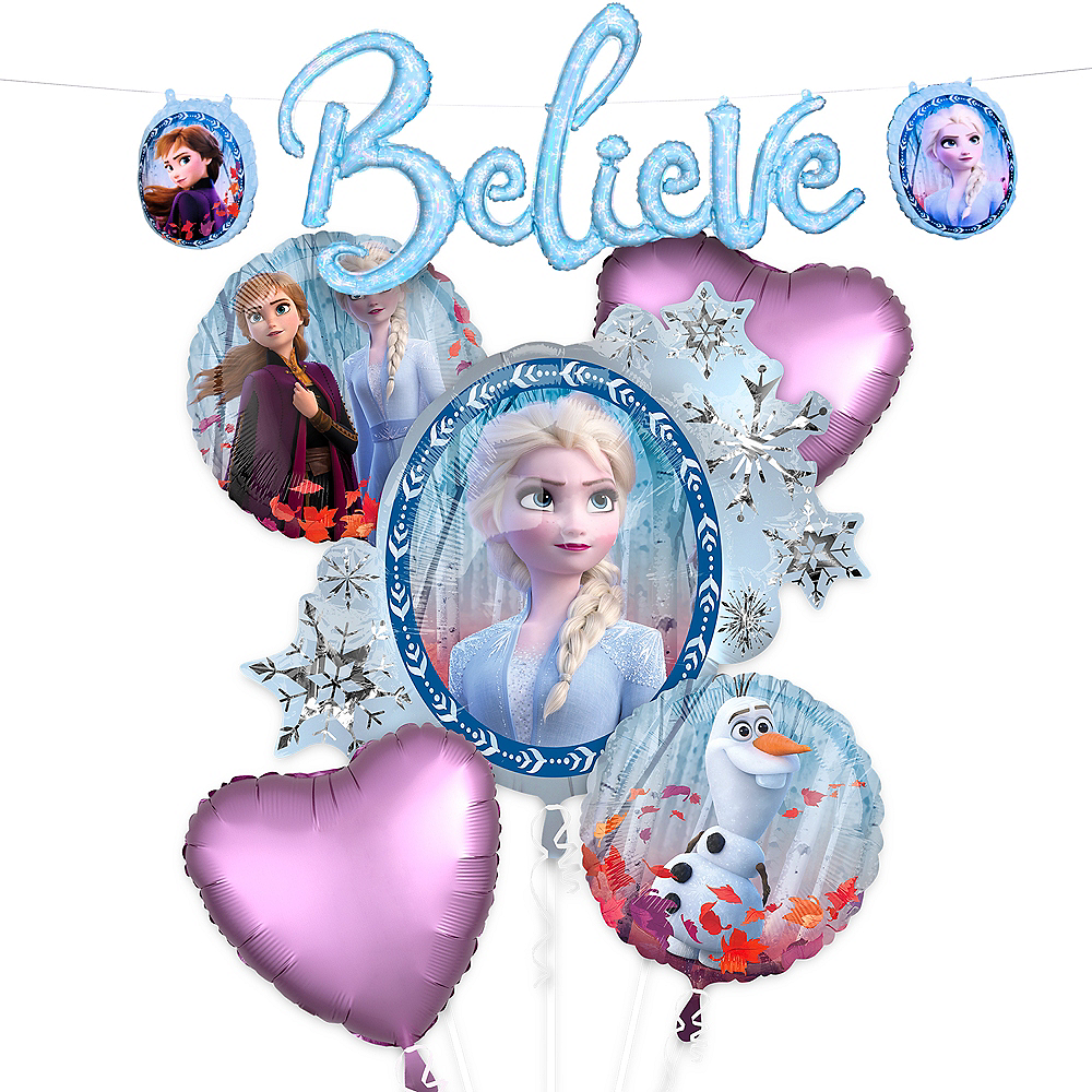 Nav Item for Frozen 2 Believe Banner Balloon Kit Image #1