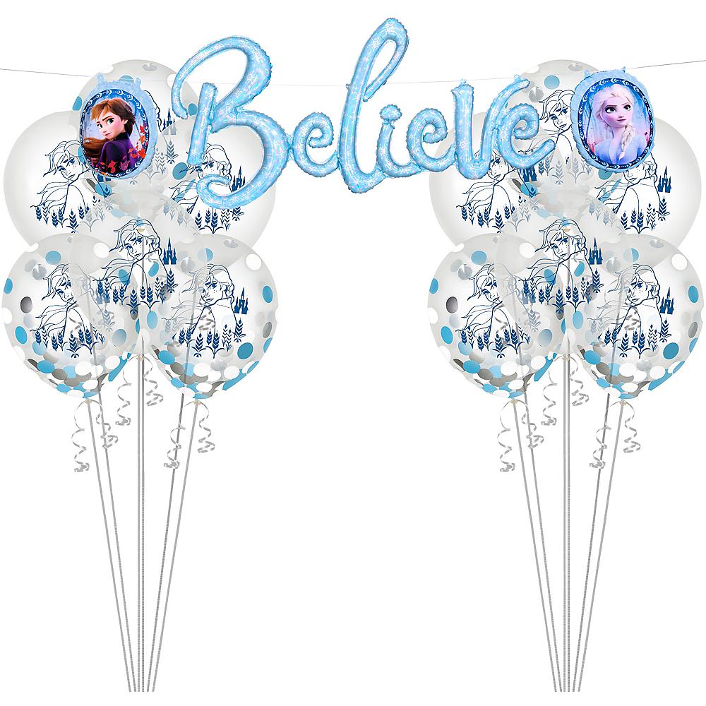 Frozen 2 Believe Banner & Confetti Balloon Kit Image #1