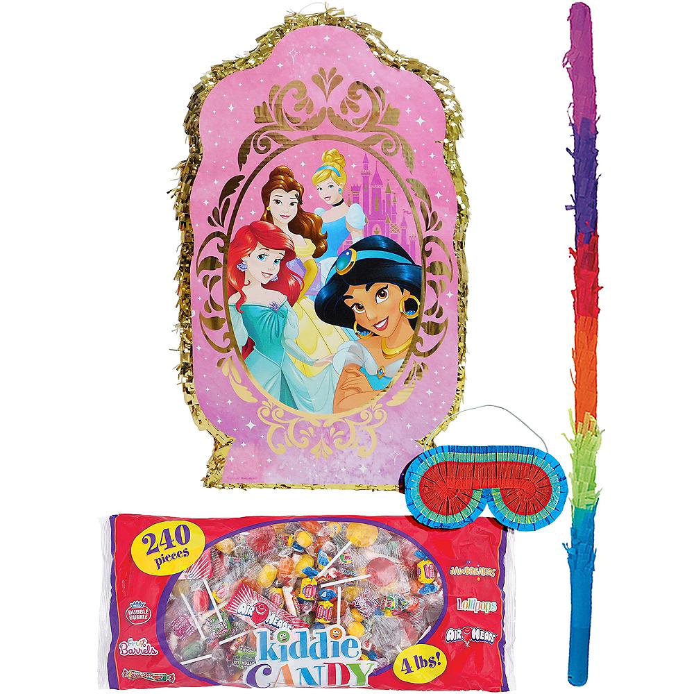 Giant Disney Princess Pinata Kit with Candy Image #1