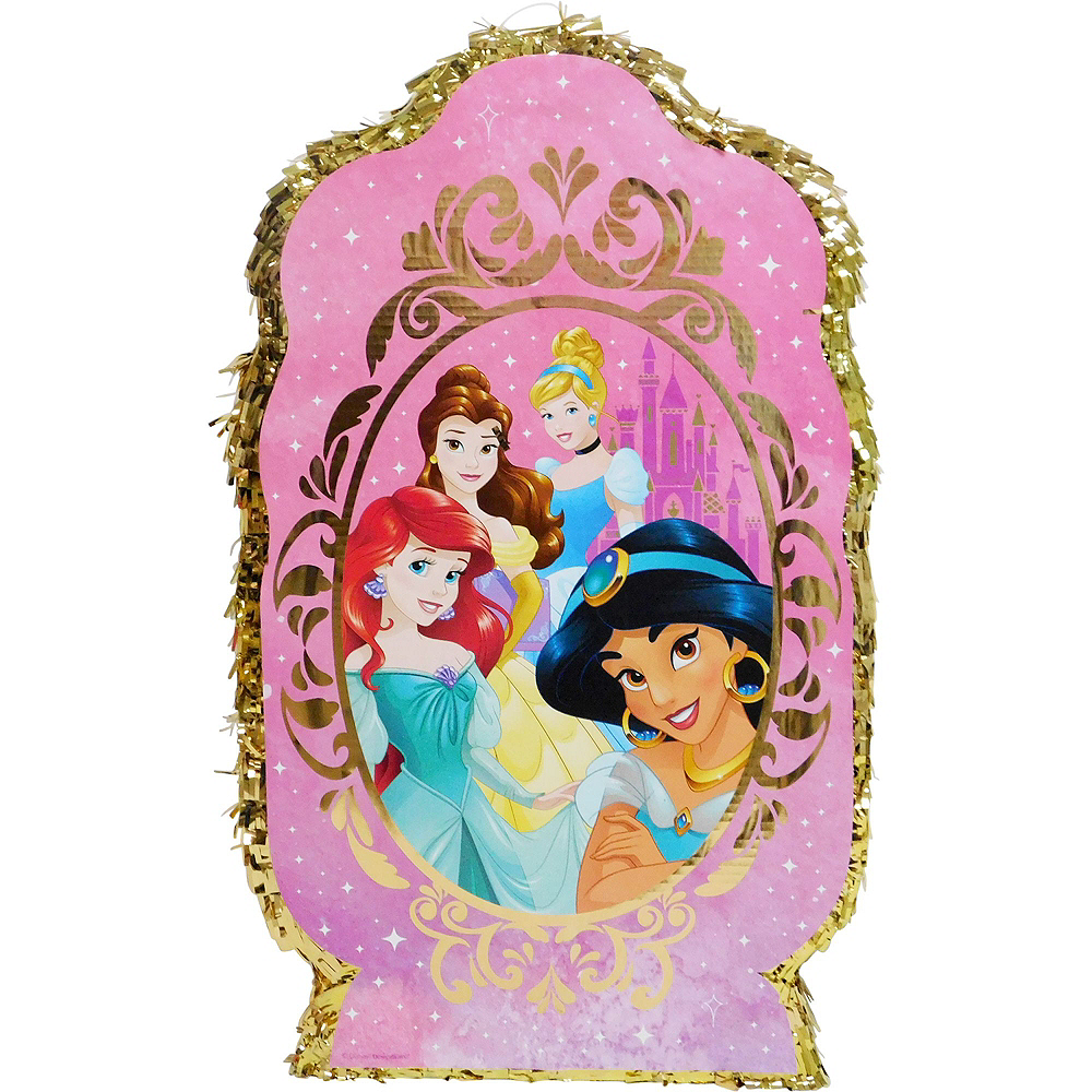 Giant Disney Princess Pinata Kit with Candy Image #2