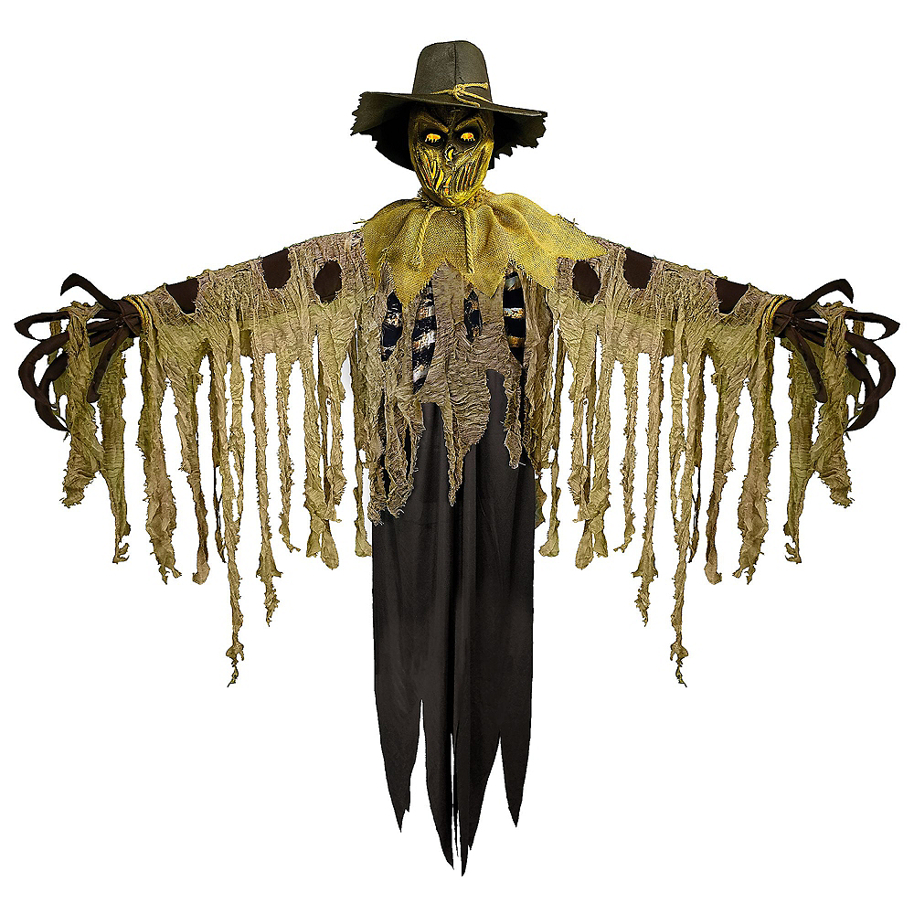 Light-Up Twisted Jack Scarecrow with Sound Image #2