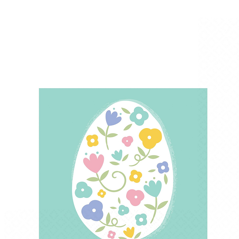 Pretty Pastel Easter Tableware Kit for 54 Guests Image #4