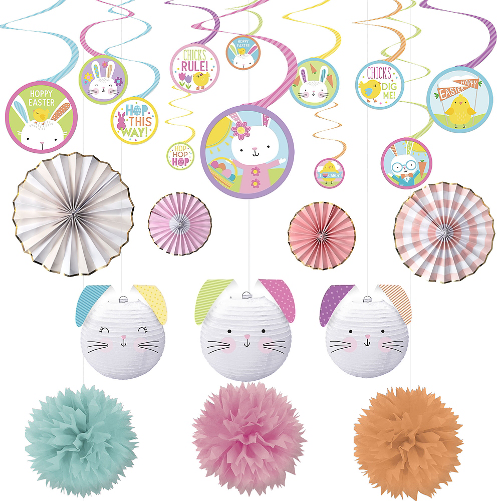 Hello Bunny Easter Decorating Kit 22pc Image #1