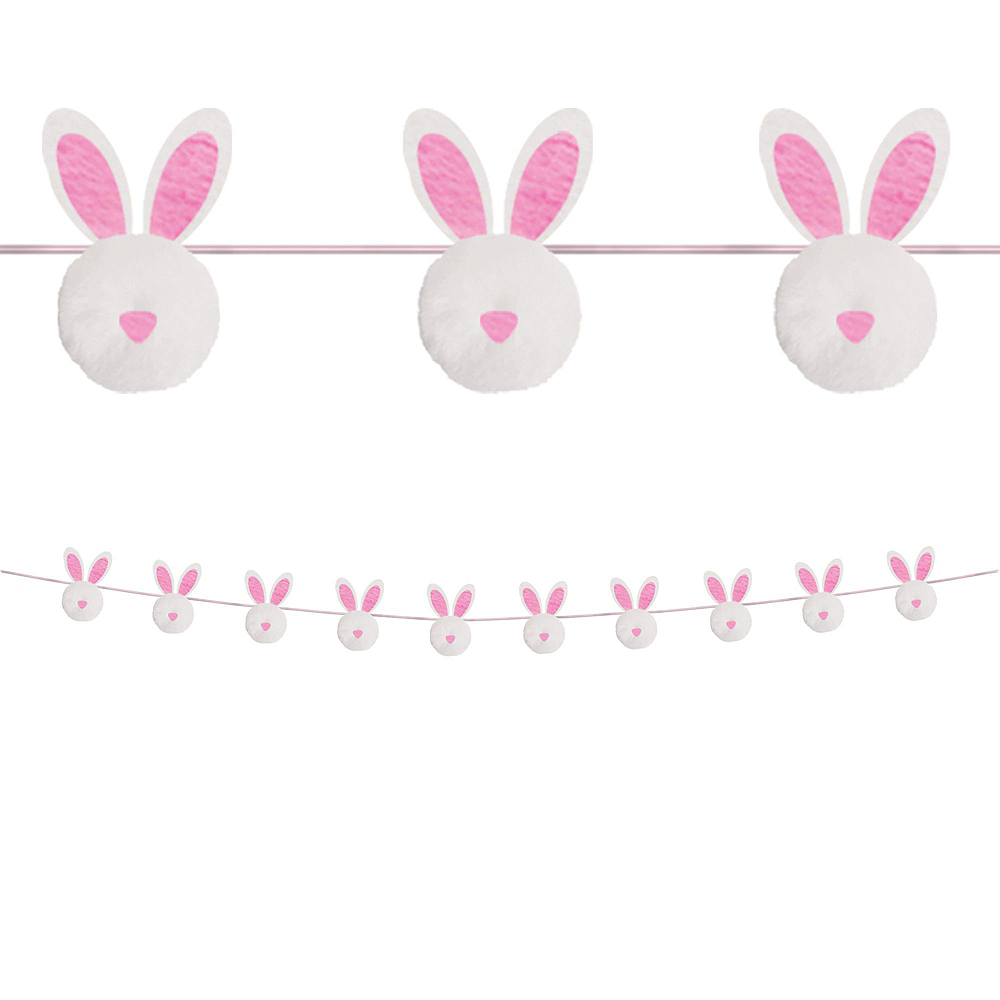 Hello Bunny Pretty Pastel Easter Decorating Kit 8pc Image #4
