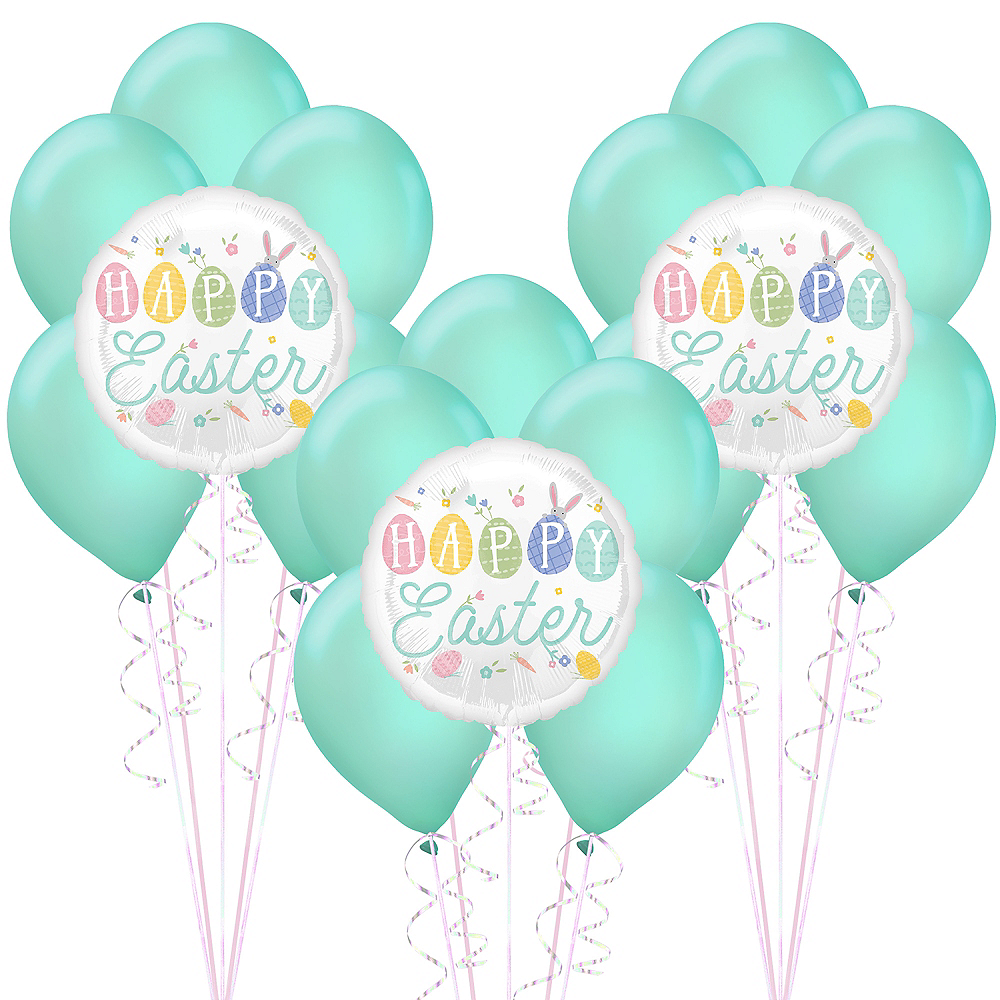 Pretty Pastel Easter Balloon Decorating Kit 18pc Image #1