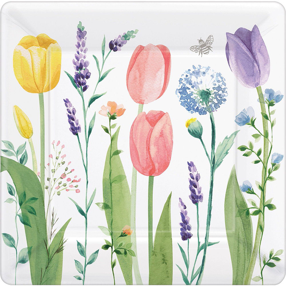 Tulip Garden Tableware Kit for 16 Guests Image #3