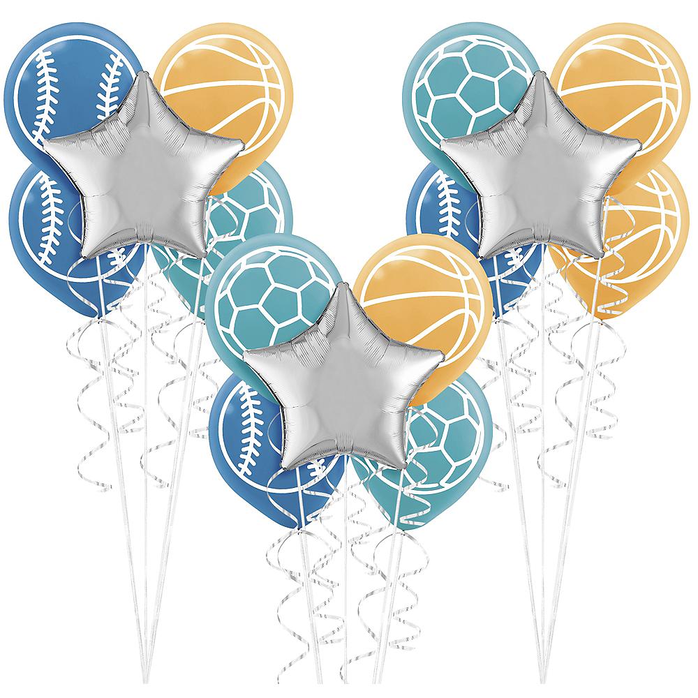 Birthday Baller Balloon Bouquet Kit Image #1