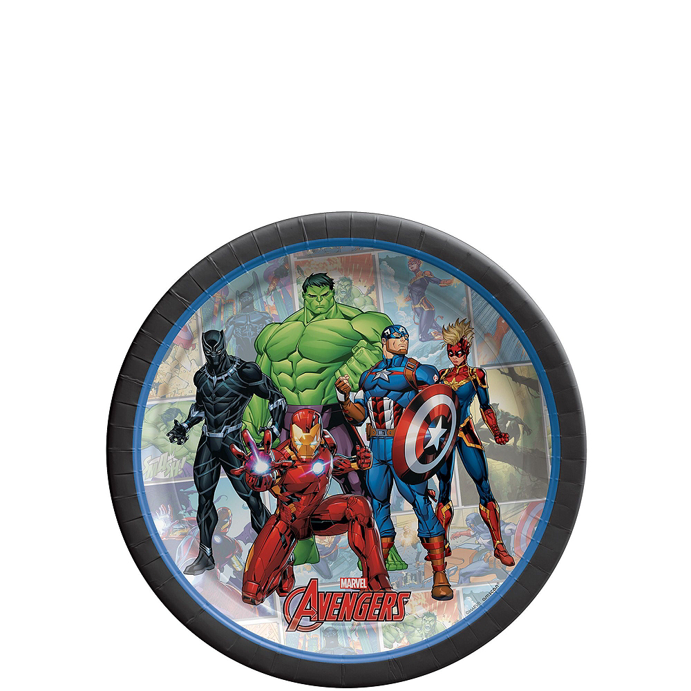 Marvel Powers Unite Tableware Kit for 24 Guests Image #2