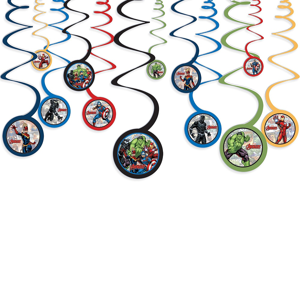 Marvel Powers Unite Ultimate Tableware Kit for 16 Guests Image #10