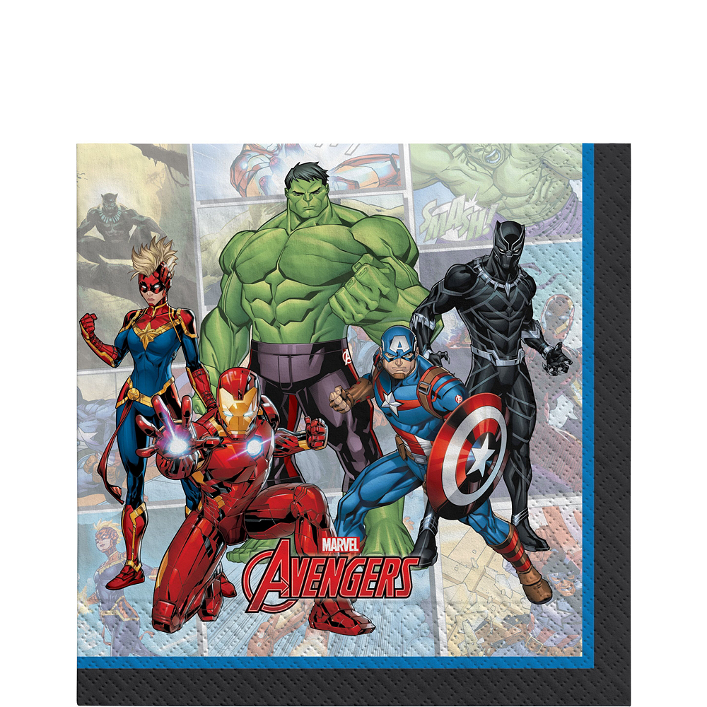 Marvel Powers Unite Captain America Tableware Kit for 16 Guests Image #5