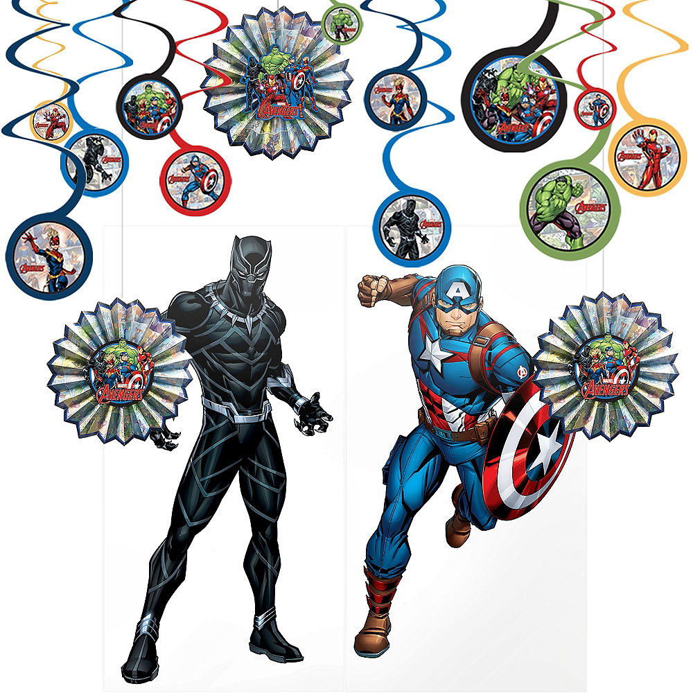Marvel Powers Unite Room Decorating Kit Image #1