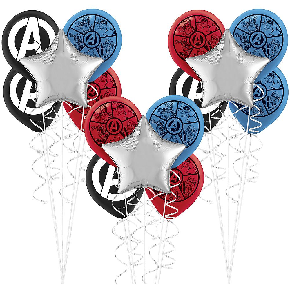 Marvel Powers Unite Balloon Bouquet Kit Image #1