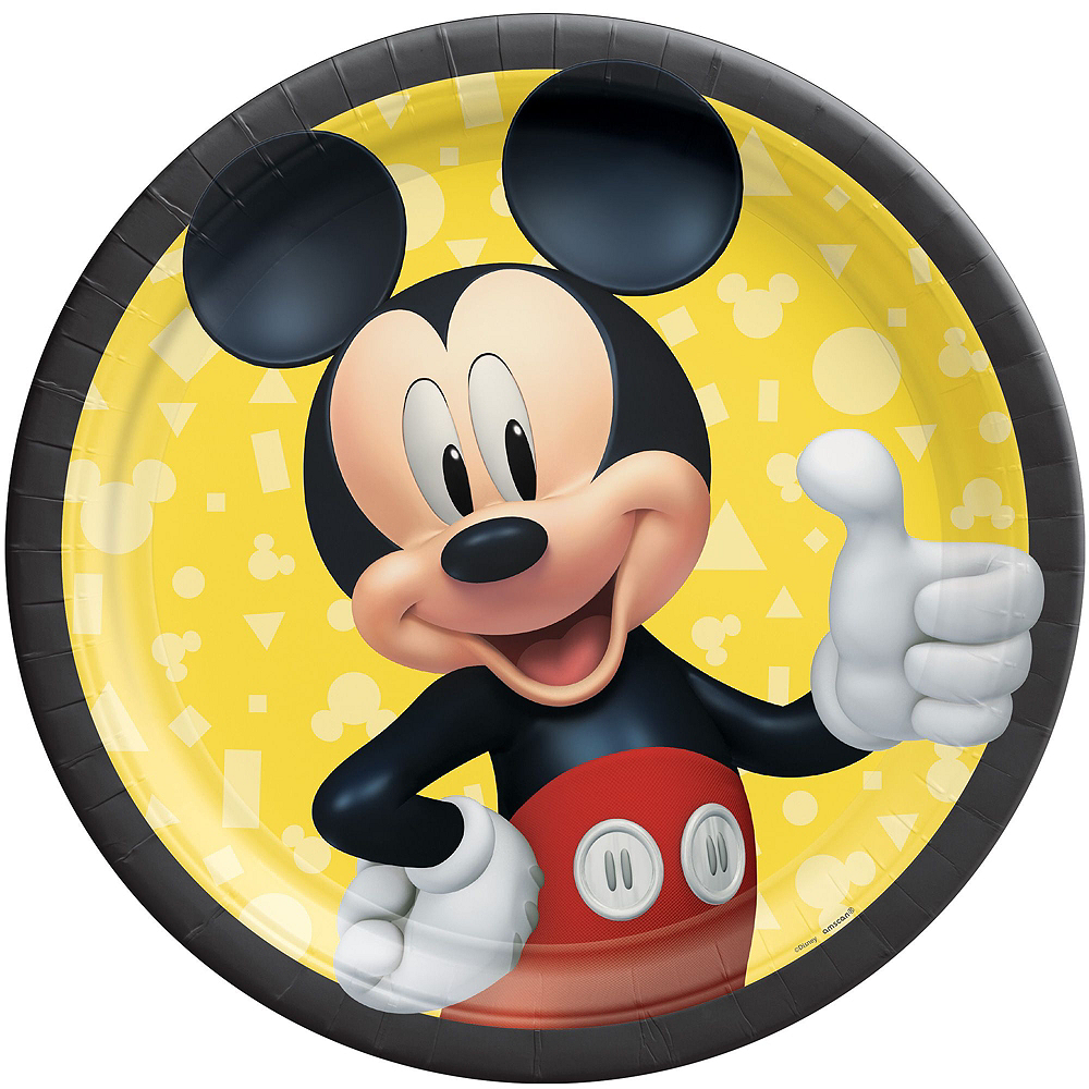 Mickey Mouse Forever Tableware Kit for 16 Guests Image #3