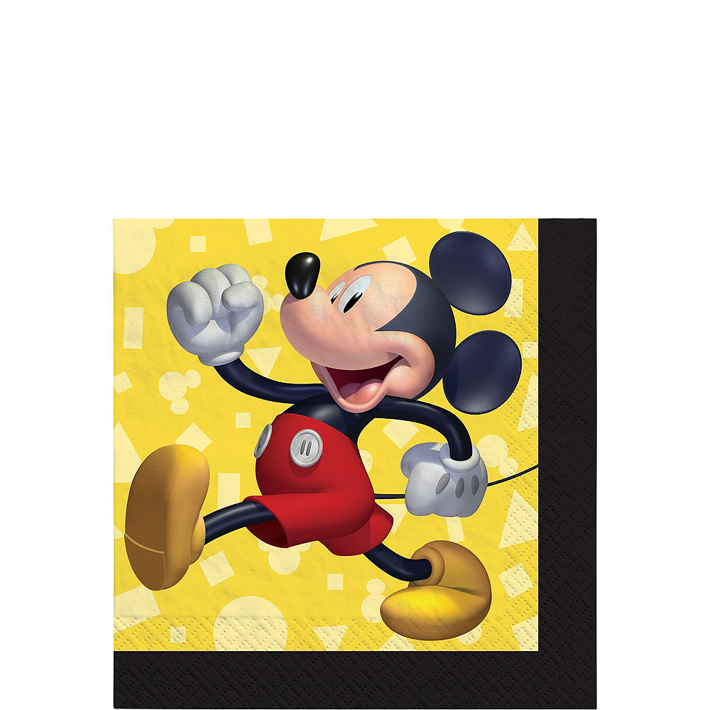 Mickey Mouse Forever Tableware Kit for 24 Guests Image #4