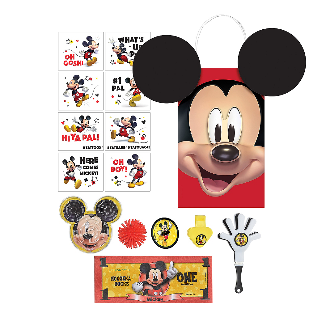 Mickey Mouse Forever Party Favor Kit for 8 Guests Image #1