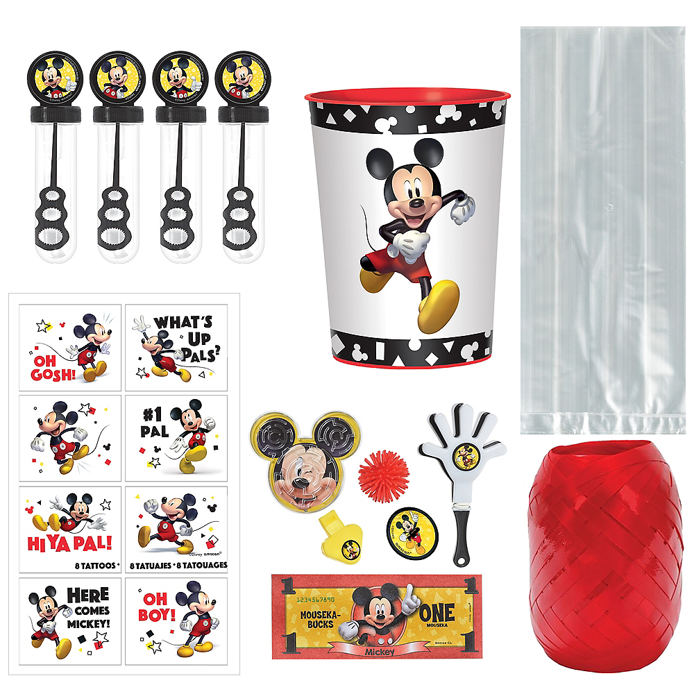 Mickey Mouse Forever Super Party Favor Kit for 8 Guests Image #1